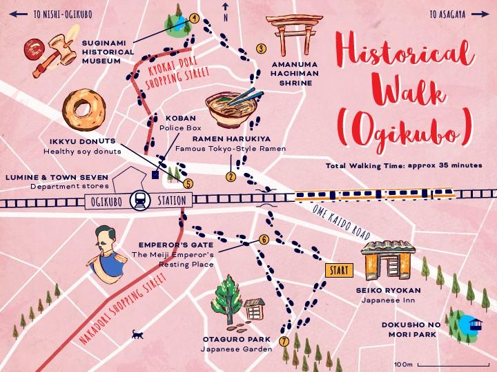 ExperienceSuginami_Ogikubo-Walk-Map_5-01
